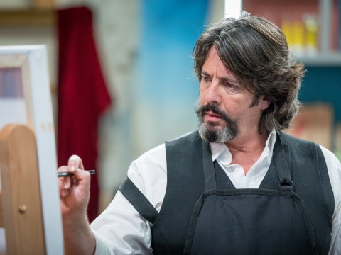 How old is Laurence Llewelyn-Bowen and when was he on Changing Rooms as he takes on Celebrity Painting Challenge?