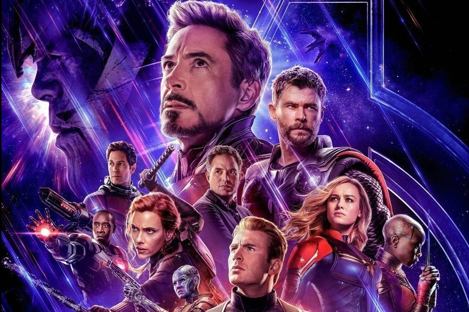 Old school Tony Stark and Captain America make return as Avengers Endgame takes trip down memory lane