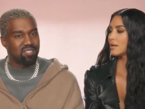 Kanye West makes his Keeping Up With The Kardashians debut and it's a real classic