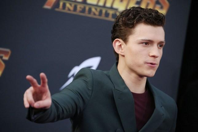 Mandatory Credit: Photo by Matt Baron/REX/Shutterstock (9640561ve) Tom Holland 'Avengers: Infinity War' film premiere, Arrivals, Los Angeles, USA - 23 Apr 2018