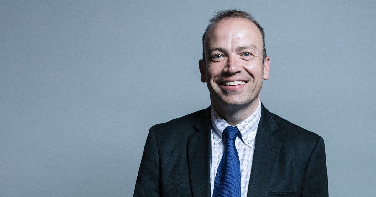 Christopher Heaton-Harris - UK Parliament official portraits 2017Picture: Gov.uk
