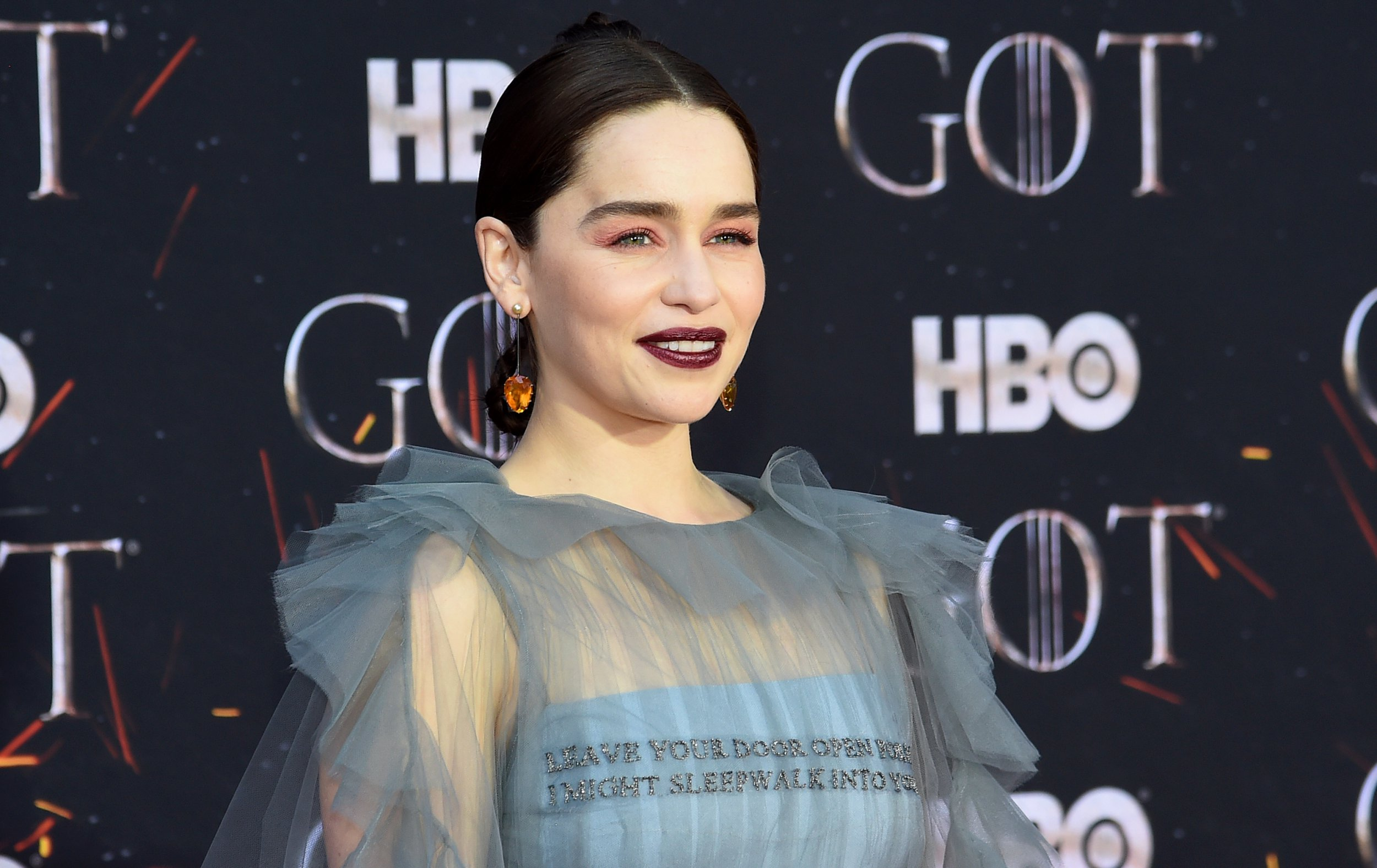 Game Of Thrones' Emilia Clarke worried she'd never be able to act again after life-threatening aneurysm