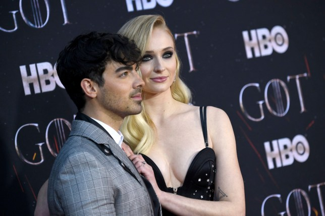Joe Jonas and Sophie Turner who are engaged to be married