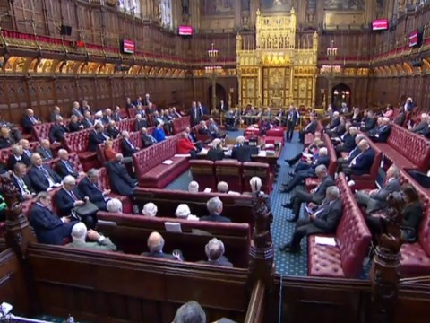 House of Lords considers no-deal bill after Brexiteer Tories fail to obstruct it