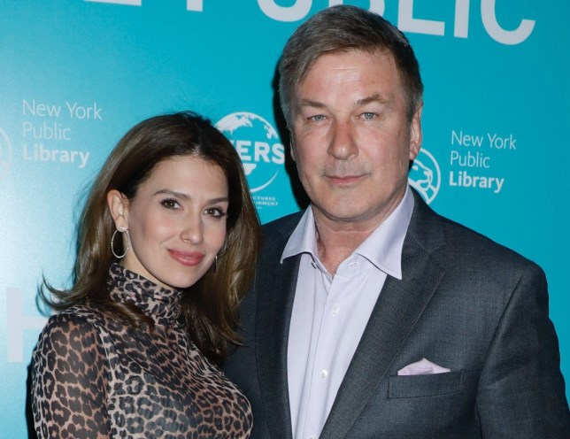 Mandatory Credit: Photo by Gregory Pace/REX/Shutterstock (10184493al) Hilaria Baldwin and Alec Baldwin 'The Public' film premiere, Arrivals, New York, USA - 01 Apr 2019