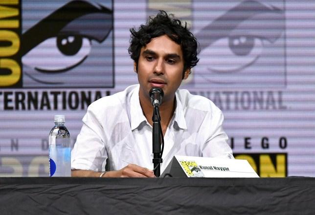 Mandatory Credit: Photo by Rob Latour/REX/Shutterstock (8970341l) Kunal Nayyar 'The Big Bang Theory' TV show panel, Comic-Con International, San Diego, USA - 21 Jul 2017