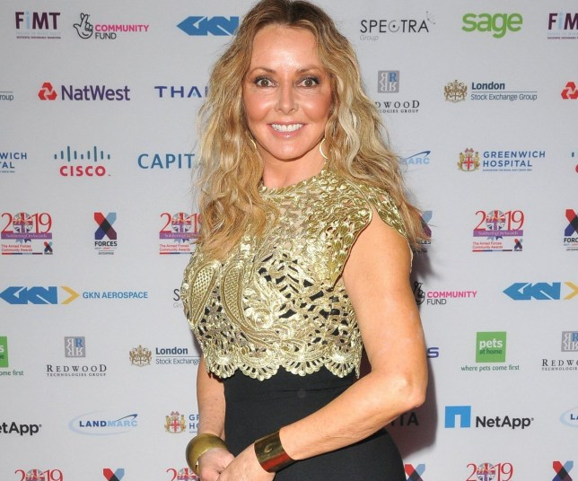 Mandatory Credit: Photo by Can Nguyen/REX (10188907b) Carol Vorderman Soldiering On Awards, London, UK - 05 Apr 2019