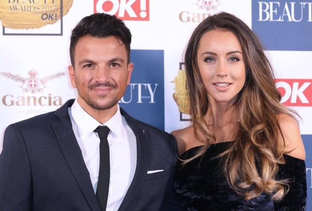 Mandatory Credit: Photo by James Shaw/REX/Shutterstock (9247134ce) Peter Andre and Emily MacDonagh The Beauty Awards with OK!, London, UK - 28 Nov 2017