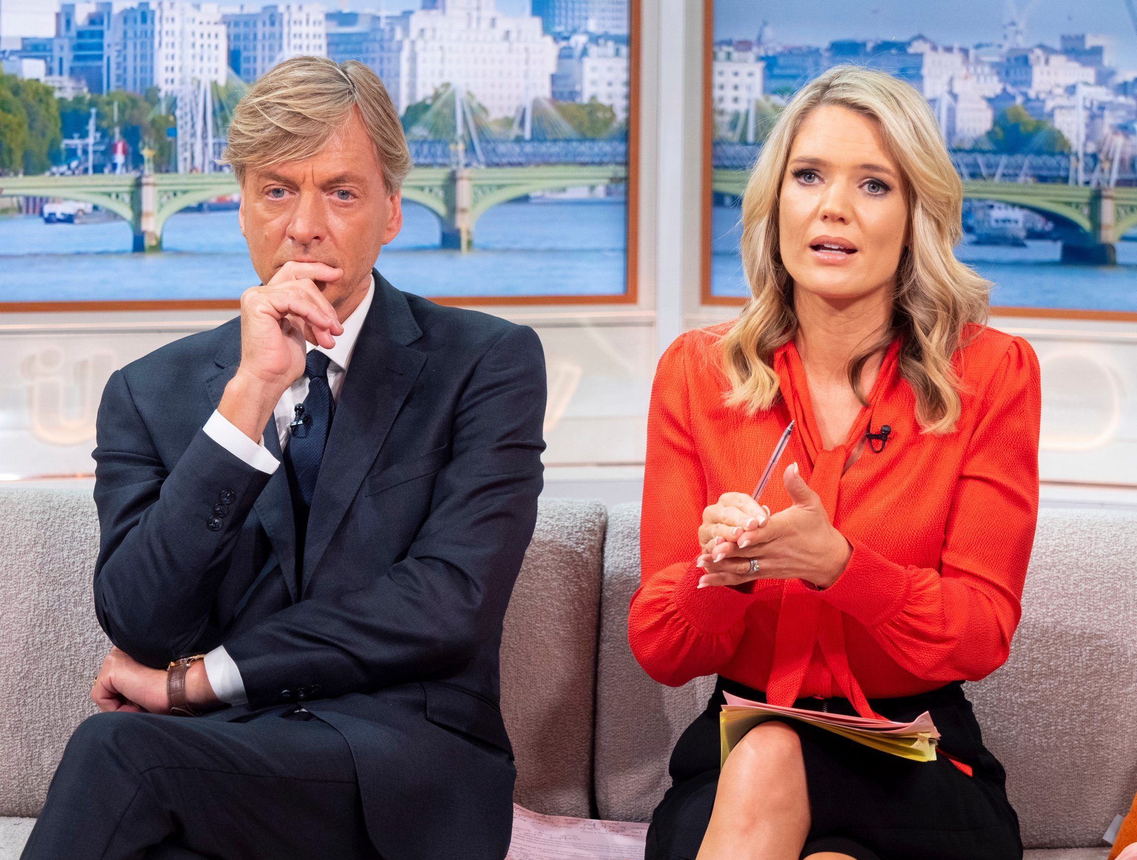 How old is Richard Madeley and why is he back on Good Morning Britain?