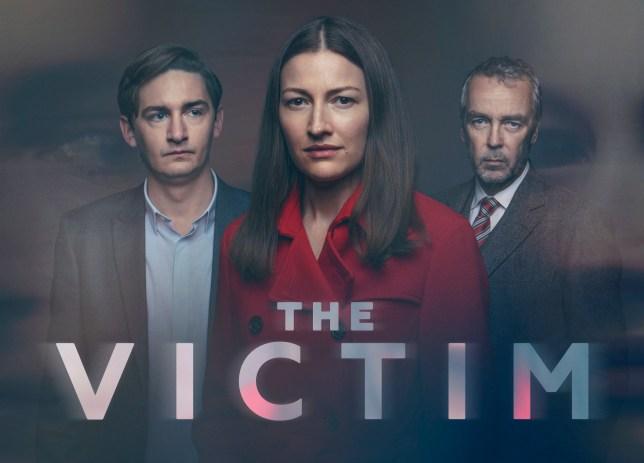 The Victim cast Craig Myers (JAMES HARKNESS), Anna Dean (KELLY MACDONALD), D.I. Steven Grover (JOHN HANNAH)
