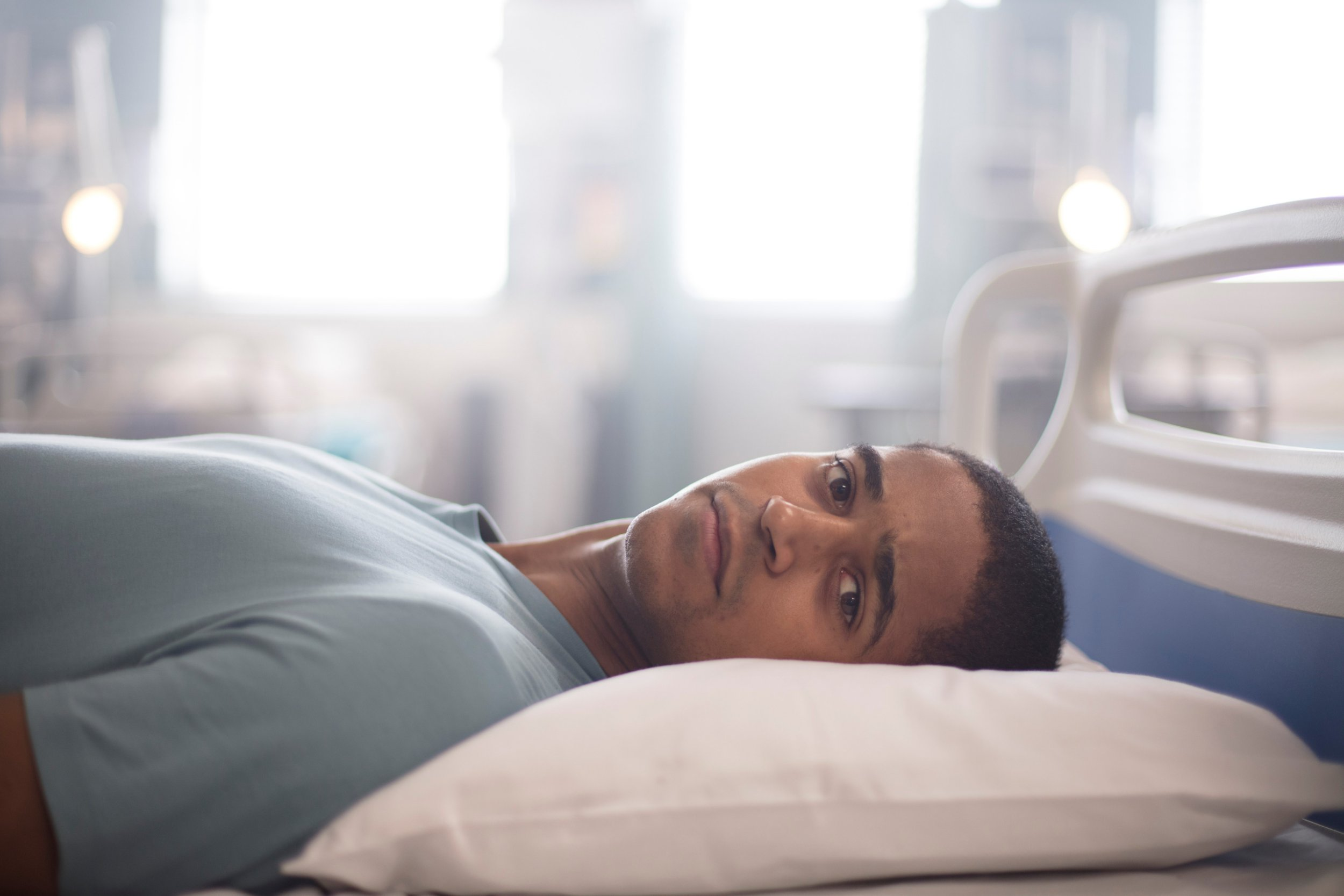 Trust Me's Alfred Enoch 'loved' filming gruesome scene – despite getting covered in friction burns