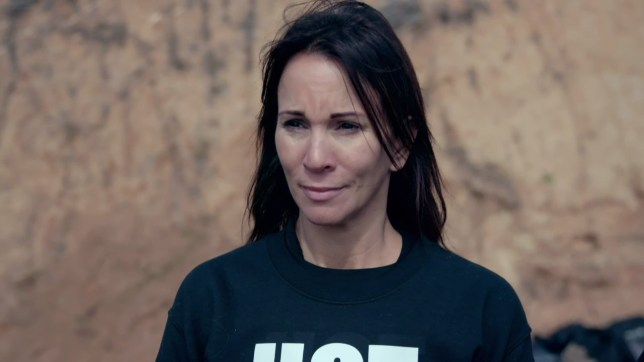 The celebrities are thrown backwards out of a helicopter on 'Celebrity SAS: Who Dares Wins for SU2C'. Broadcast on Channel 4 Featuring: Andrea McLean When: 07 Apr 2019 Credit: Supplied by WENN **WENN does not claim any ownership including but not limited to Copyright, License in attached material. Fees charged by WENN are for WENN's services only, do not, nor are they intended to, convey to the user any ownership of Copyright, License in material. By publishing this material you expressly agree to indemnify, to hold WENN, its directors, shareholders, employees harmless from any loss, claims, damages, demands, expenses (including legal fees), any causes of action, allegation against WENN arising out of, connected in any way with publication of the material.**