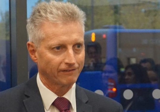 Roger Parkin, interim chief executive of Slough Borough Council (SBC) taken from the internet His basic salary of ?112,159 was topped up by an early pension payment of ?339,903 and a severance payment of ?142,215 when he left the role at the end of 2017.