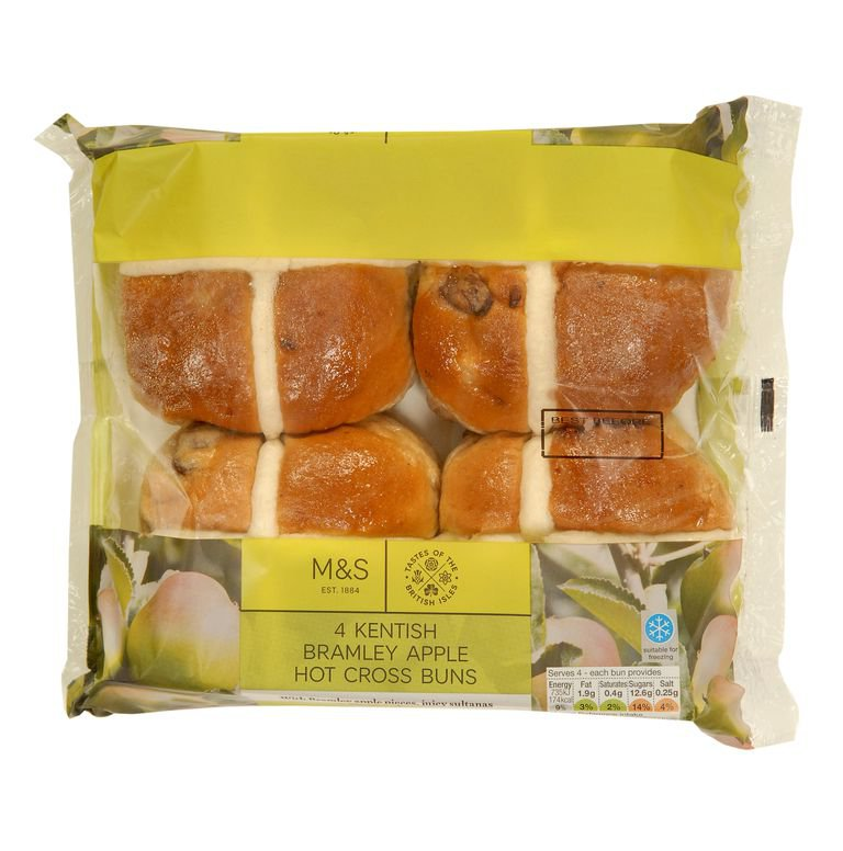 Vegan hot cross buns have just arrived at Marks & Spencer Provider: Marks and Spencer Source: https://www.cosmopolitan.com/uk/worklife/a27070354/vegan-hot-cross-buns-marks-and-spencer/