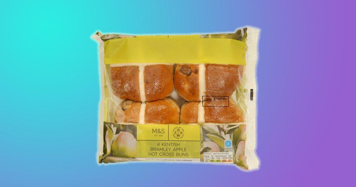 Vegan hot cross buns have just arrived at Marks & Spencer Provider: Marks and Spencer