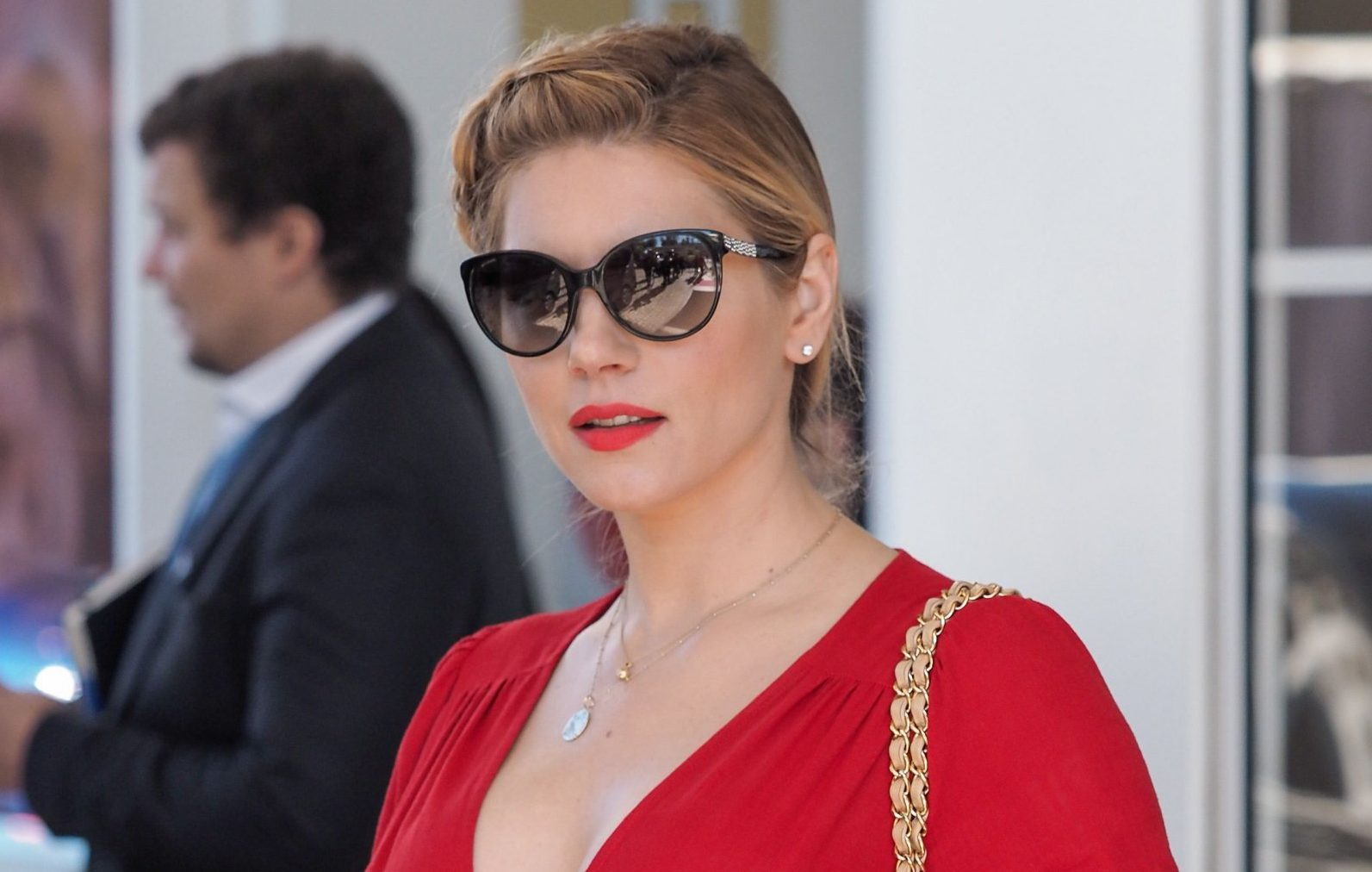 Vikings star Katheryn Winnick fights for gender equality at Cannes Series Festival – and it is so Lagertha