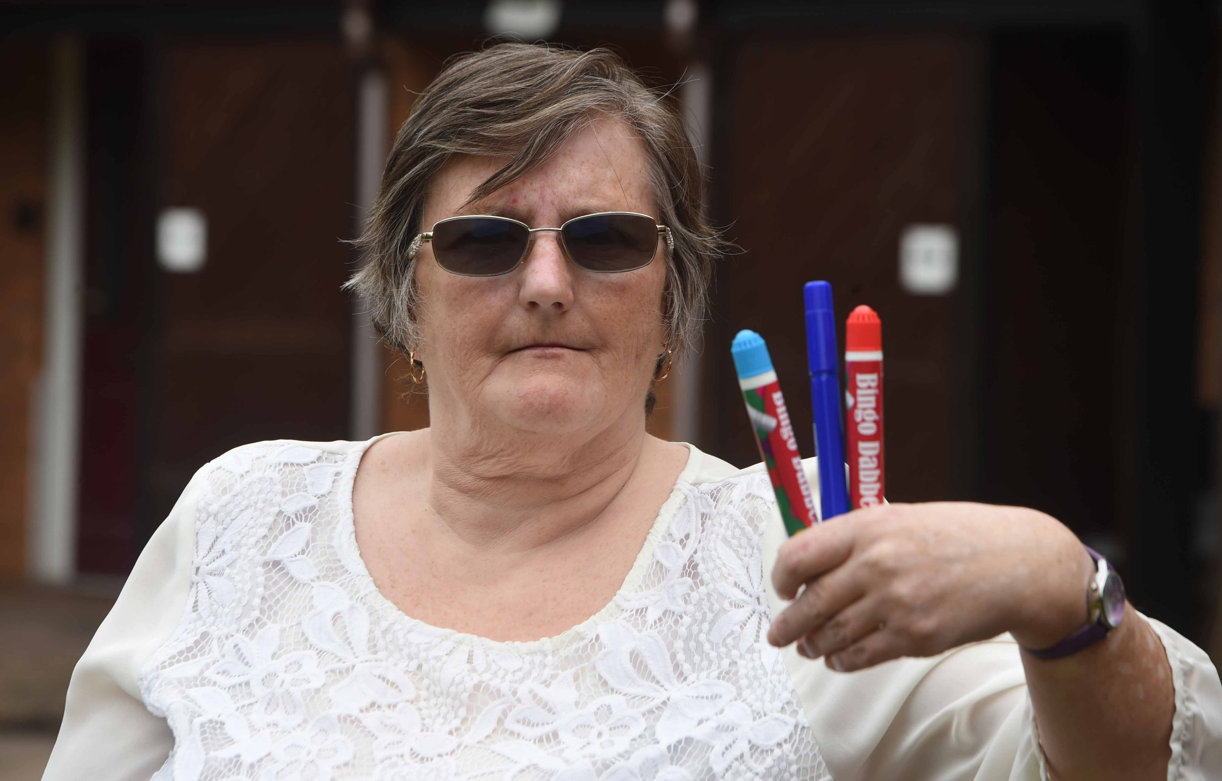 Pictured Jean Jones pensioner from Northfield, Birmingham who won ?22.000 at her local bingo hall has had her benefits cut as a result of the win.