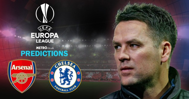 Michael Owen gives his thoughts on Arsenal and Chelsea's Europe League chances