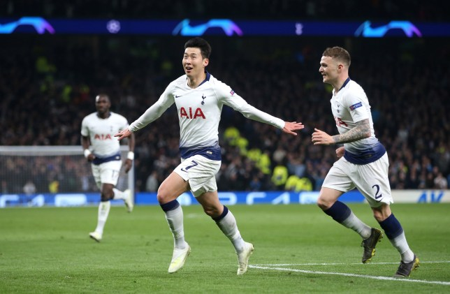 cbb17e2ba Son Heung-Min punishes Manchester City to put Spurs in touching distance of  Champions League semi-finals