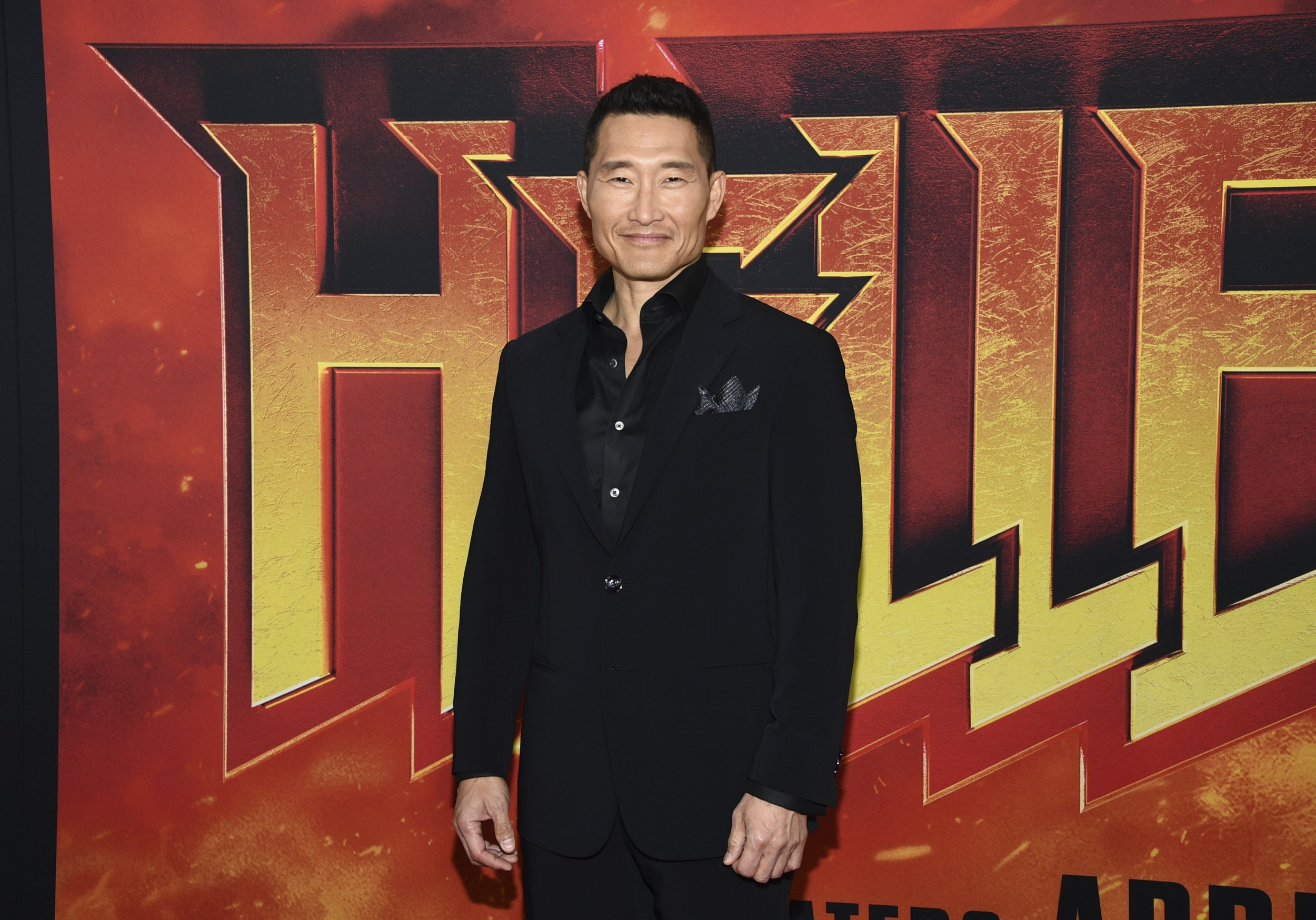 """Actor Daniel Dae Kim attends a special screening of """"Hellboy"""" at AMC Lincoln Square on Tuesday, April 9, 2019, in New York. (Photo by Evan Agostini/Invision/AP)"""