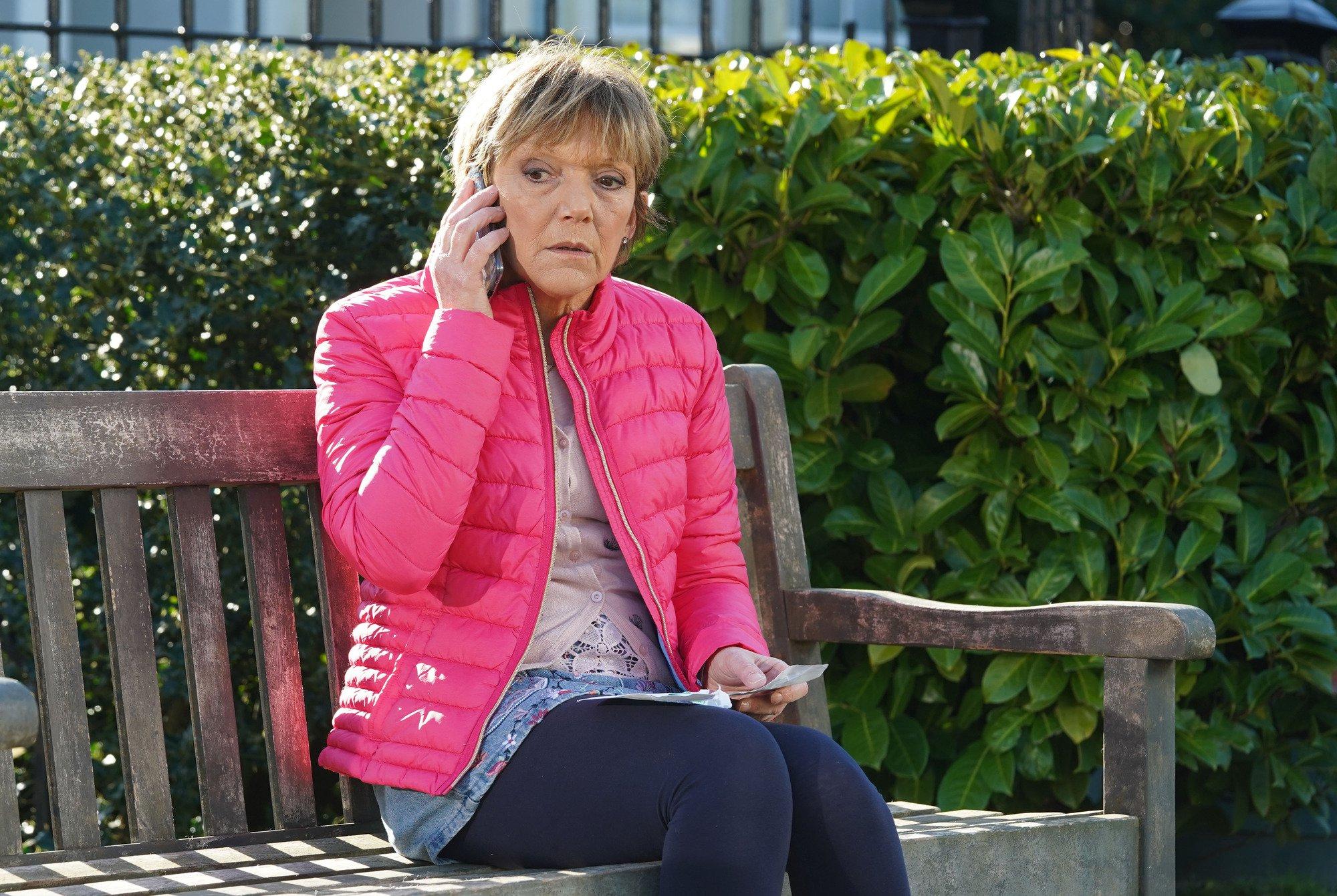 Jean (Gillian Wright) calls Sean to come back