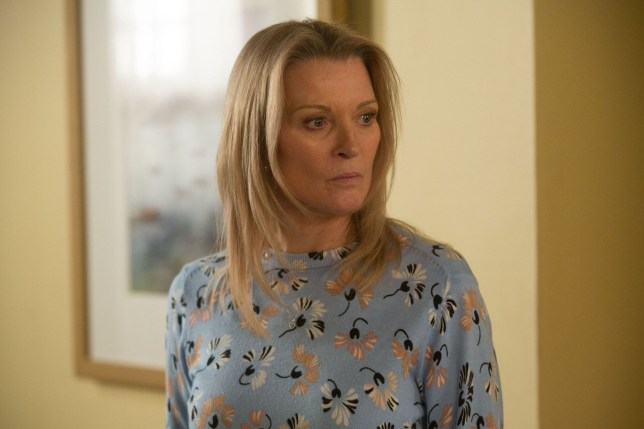 Kathy Beale (Gillian Taylforth) is in for a shock
