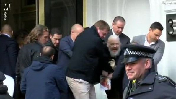 WikiLeaks founder Julian Assange has been arrested at the Ecuadorian embassy in London, Scotland Yard said.