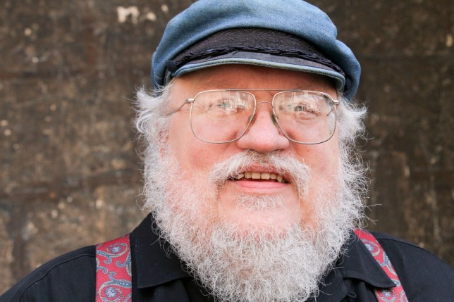 Mandatory Credit: Photo by Sipa/REX/Shutterstock (3884488d) George R. R. Martin, author of 'Game of Thrones' books George RR Martin store appearance, Dijon, France - 02 Jul 2014