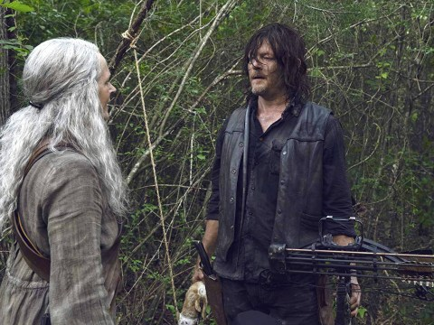 The Walking Dead's Norman Reedus confirms Daryl and Carol are still each other's ride or die in first season 10 photo