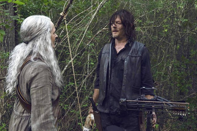 Carol (Melissa McBride) and Daryl (Norman Reedus) on The Walking Dead (Picture: AMC)