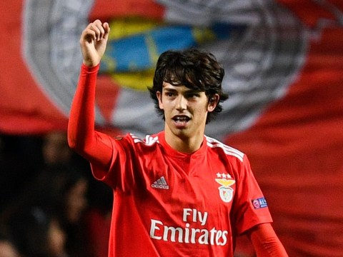 Joao Felix shows why Manchester United want to sign him with stunning hat-trick in Benfica's win over Eintracht Frankfurt