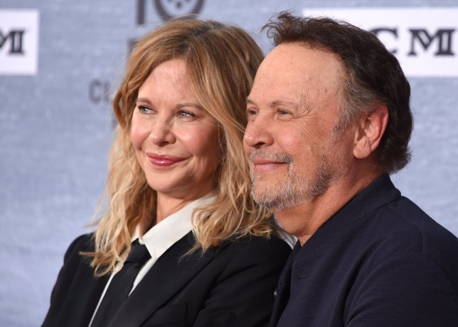 Mandatory Credit: Photo by AFF-USA/REX (10200262m) Meg Ryan and Billy Crystal 'When Harry Met Sally' Reunion TCM Opening Night, Arrivals, TCL Chinese Theatre, Los Angeles, USA - 11 Apr 2019