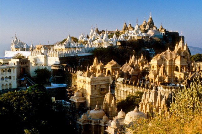 Palitana in India, the world's first fully vegetarian city