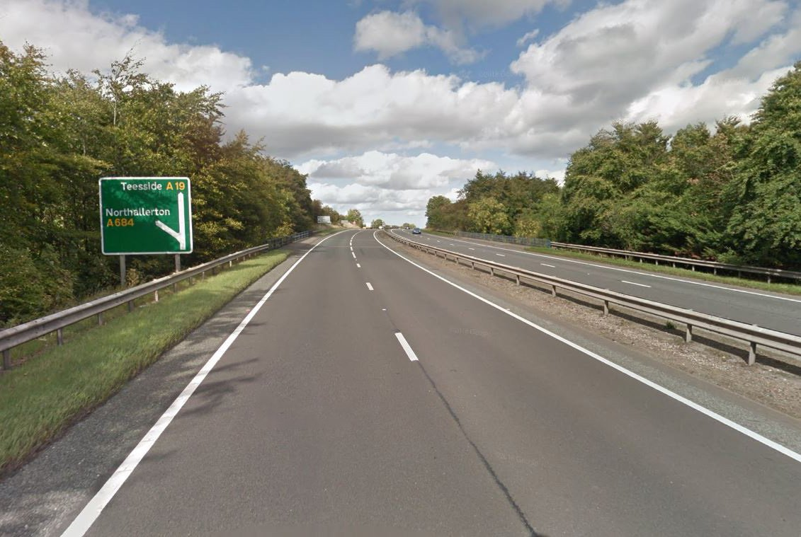"Five people have been taken to hospital following a ""serious collision"" on the A19. Five ambulances, a rapid response vehicle, a doctor and an air ambulance team were all called to the two-vehicle collision on the northbound carriageway, which occurred prior to the A684 turn off near Northallerton, North Yorkshire, at around 11.51am on Saturday. Pictured: A19"