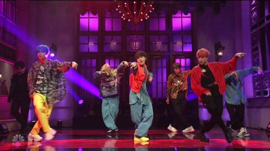 BTS make SNL debut with Boy With Luv and it was perfection