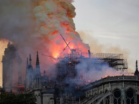 Billionaires pledge £260,000,000 to help rebuild Notre Dame after fire