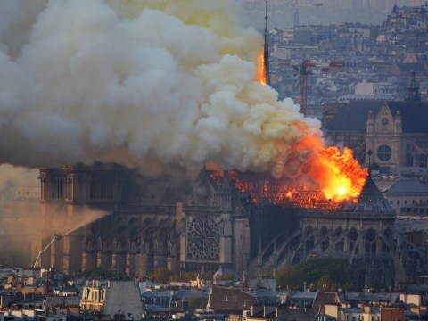 What caused the Notre Dame fire?
