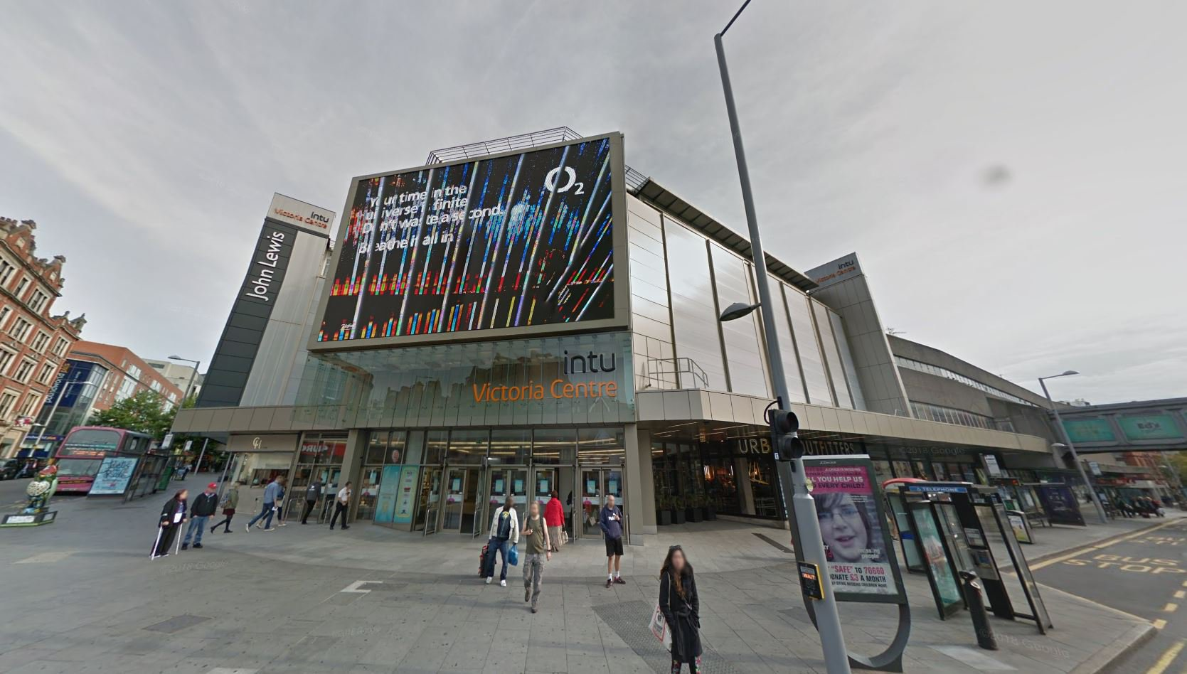 Woman, 74, falls to her death in Urban Outfitters