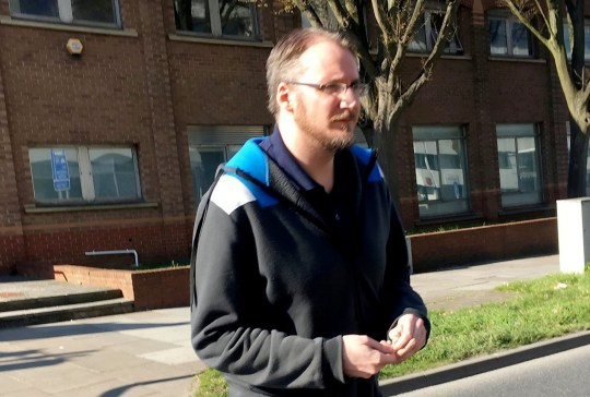 Darren Brazier was given a third chance despite being found with more than a million indecent images (Picture: Swindon Advertiser/SWNS)