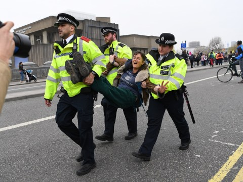 London Underground and buses to be severely disrupted today by climate activists
