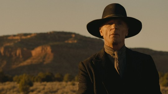 The Man In Black Westworld (Picture: HBO/REX)