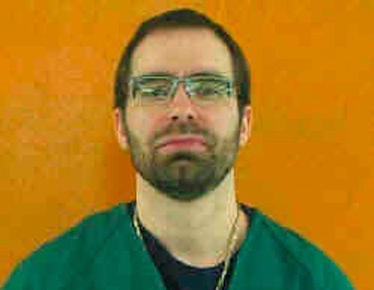 File- This undated file photo provided by the Ohio Department of Rehabilitation and Correction shows Greg Reinke. Reinke, who stabbed four fellow prisoners and a guard in separate bloody attacks, is on a hunger strike inside Ohio???s toughest prison, alleging mistreatment. Reinke is housed at the state???s supermax prison in Youngstown. He says he???s being harassed by guards, denied proper recreation time and lives in a bare cell with no place to put his clothes. Sara French is a spokeswoman with the Department of Rehabilitation and Correction. She confirms Reinke has missed 14 meals as of Tuesday, April 16, 2019, meeting the agency???s definition of a hunger strike. French denied Reinke is being mistreated. (Ohio Department of Rehabilitation and Correction via AP, File)