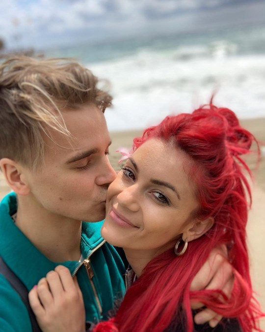 Strictly Come Dancing's Joe Sugg and Dianne Buswell