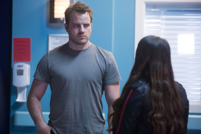 Stacey Fowler (Lacey Turner) gives Sean Slater (Rob Kazinsky) some harsh home truths