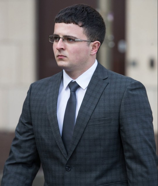 Oliver Brown denies manslaughter (Picture: Aaron Chown/PA)
