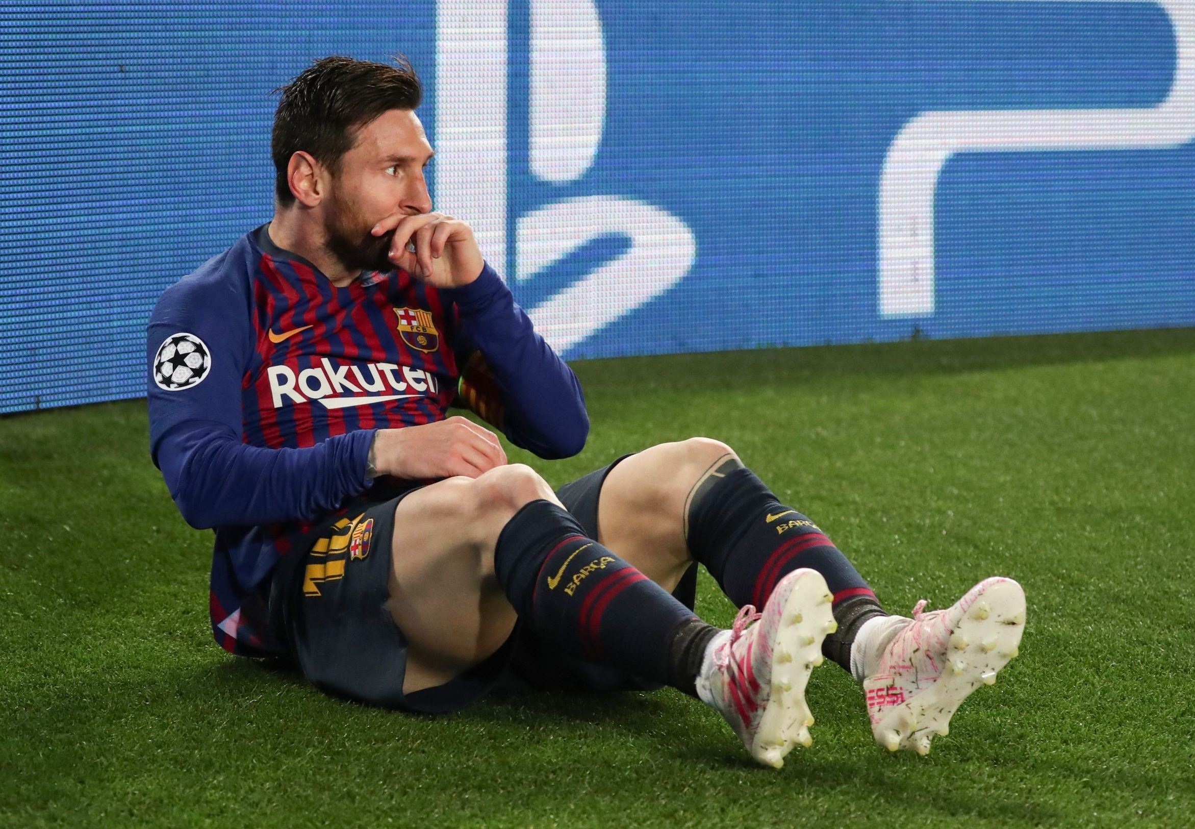 Lionel Messi fires warning to Barcelona ahead of potential Liverpool Champions League semi-final