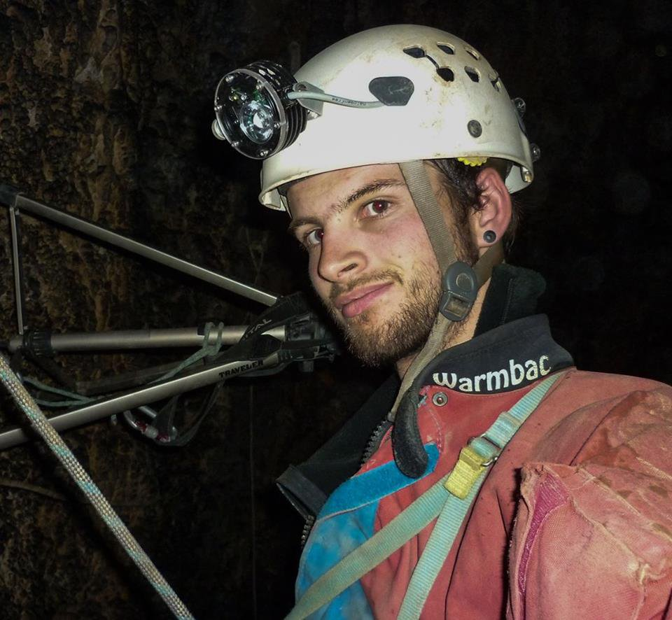 METRO GRAB - British diver who rescued Thai football team from cave is rescued from a cave Picture of Josh Bratchley From @joshbratchley/Facebook https://www.facebook.com/joshbratchley/photos