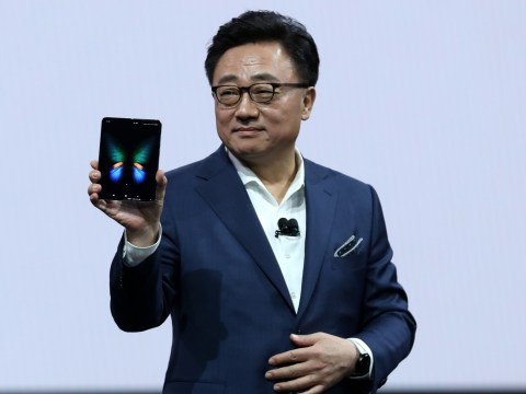 Samsung boss admits his firm's folding phone release fail was 'embarrassing'