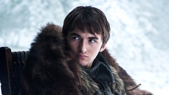 Isaac Hempstead Wright at 'Kimmel' Bran Stark in Game of Thrones