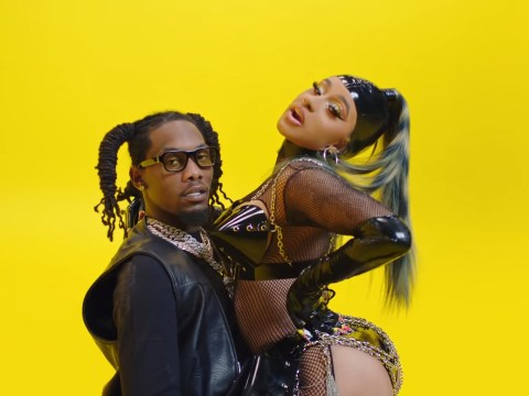 Cardi B gives husband Offset a lap dance and is buried in lemons in spicy new Clout video